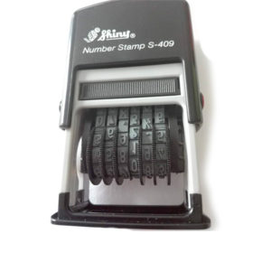 Numerador Shiny S-409